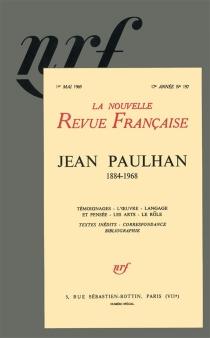 Jean Paulhan - Nouvelle revue française