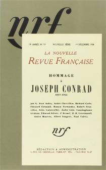 Hommage à Joseph Conrad - Nouvelle revue française
