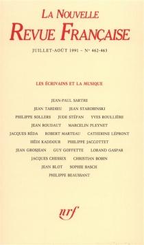 Nouvelle revue française, n° 462 -