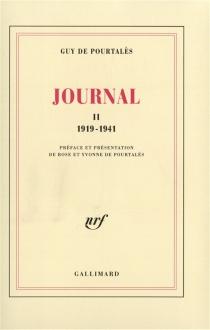 Journal - Guy dePourtalès