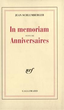 In memoriam| Anniversaires - JeanSchlumberger