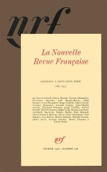 Hommage à Saint-John Perse : 1887-1975 - Nouvelle revue française