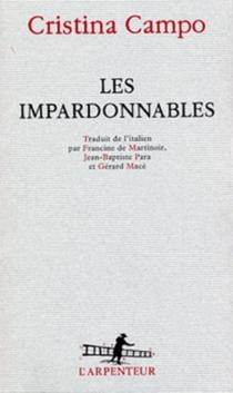 Les Impardonnables - CristinaCampo