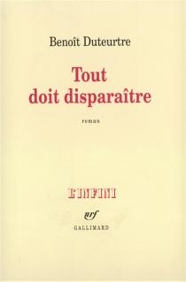 Tout doit disparaître - BenoîtDuteurtre