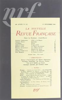 La Nouvelle revue française : décembre 1940-juin 1941 -