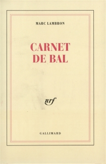 Carnet de bal - MarcLambron
