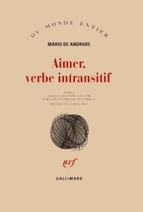 Aimer, verbe intransitif - Mário deAndrade