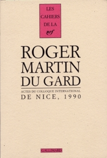 Cahiers Roger Martin du Gard -