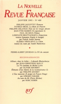 Nouvelle revue française, n° 480 -