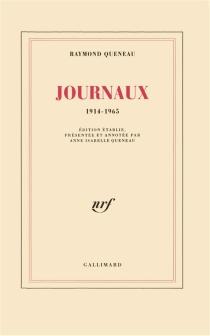 Journal, 1914-1965 - RaymondQueneau