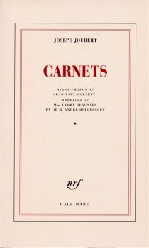 Carnets - JosephJoubert