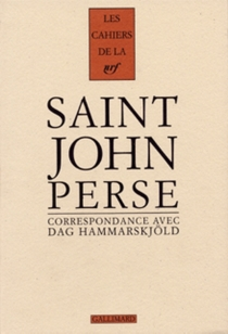 Cahiers Saint-John Perse - DagHammarskjöld