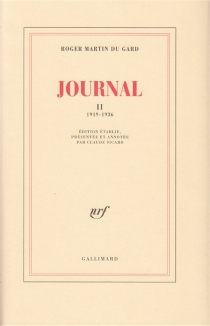 Journal - Roger Martin du Gard