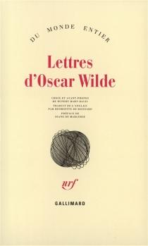 Lettres d'Oscar Wilde - OscarWilde