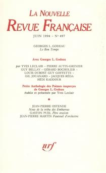 Nouvelle revue française, n° 497 -