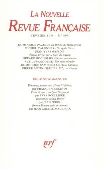 Nouvelle revue française, n° 505 -