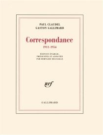 Correspondance : 1911-1954 - PaulClaudel