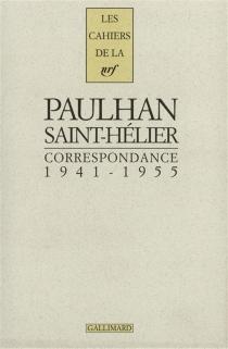 Correspondance, 1941-1955 - JeanPaulhan