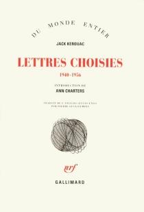 Lettres choisies - JackKerouac
