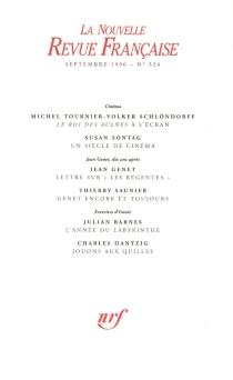 Nouvelle revue française, n° 524 -