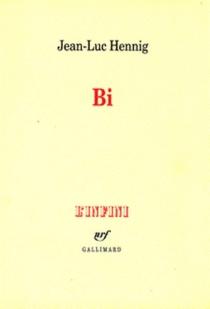 BI, de la bisexualité masculine - Jean-LucHennig