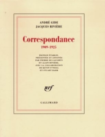 Correspondance 1909-1925 - AndréGide