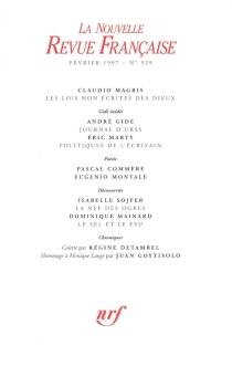 Nouvelle revue française, n° 529 -