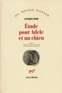 Etude pour Adèle et un chien - ElfriedeKern