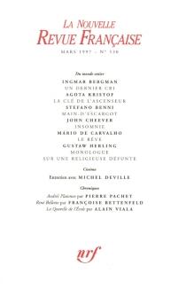 Nouvelle revue française, n° 530 -