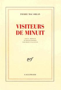 Visiteurs de minuit - PierreMac Orlan