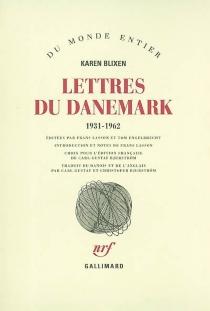 Lettres du Danemark, 1931-1962 - KarenBlixen