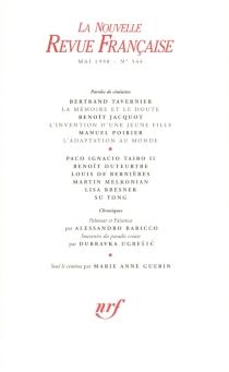 Nouvelle revue française, n° 544 -