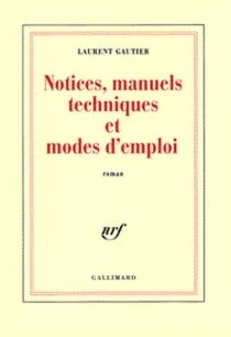 Notices, manuels techniques et mode d'emploi - LaurentGautier