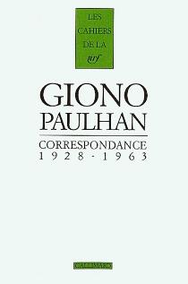 Correspondance 1928-1963 - JeanGiono