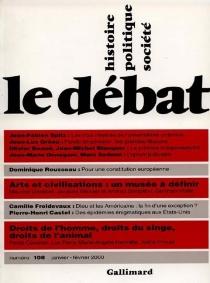 Débat (Le), n° 108 -
