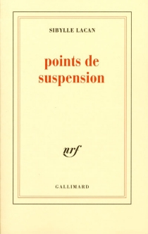 Points de suspension - Sibylle Lacan
