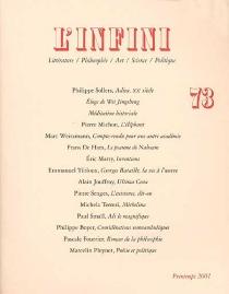 Infini (L'), n° 73 -