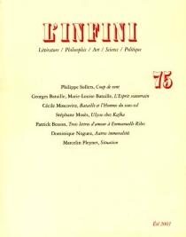 Infini (L'), n° 75 -