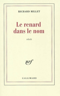 Le renard dans le nom - RichardMillet