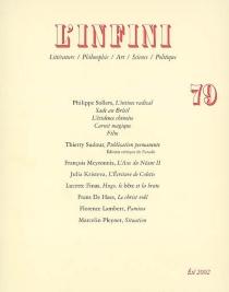 Infini (L'), n° 79 -