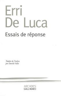 Essais de réponse - ErriDe Luca