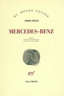 Mercedes-Benz : sur des lettres à Hrabal - PawelHuelle