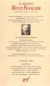 Nouvelle revue française, n° 564 -