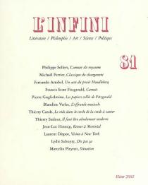 Infini (L'), n° 81 -
