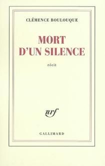 Mort d'un silence - ClémenceBoulouque