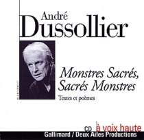Monstres sacrés, sacrés monstres : textes et poèmes -