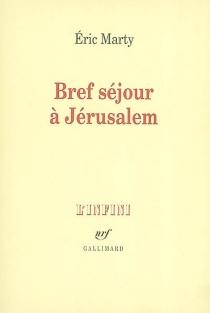 Bref séjour à Jérusalem - ÉricMarty