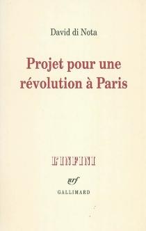 Projet pour une révolution à Paris - DavidDi Nota