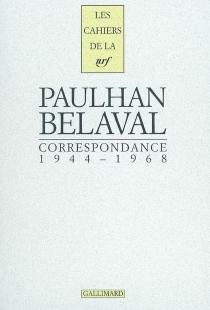 Correspondance 1944-1968 - YvonBelaval