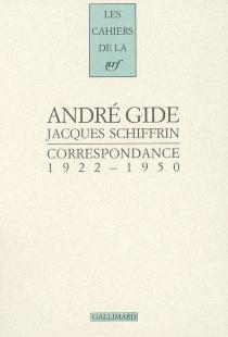 Correspondance (1922-1950) - AndréGide
